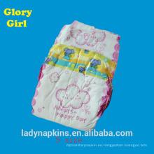 Pañales de bebé súper suave algodón sin alcohol adisposable