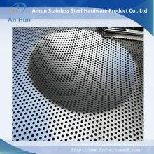Perforiertes Metallblech als mechanischer Schirm