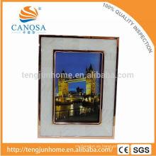 Foto de marco de Shell de agua dulce amigable con Eco con Golden Edge