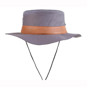 Custom Foldable Bucket Hats With Chin Cord