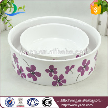 2015 New Ceramic Pet Bowls For Dogs and Cats