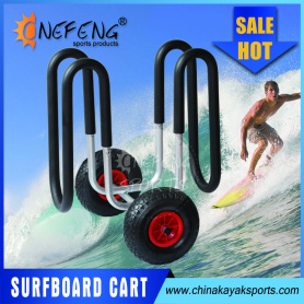 Aluminum Surfboard Cart,SUP Beach Trolley