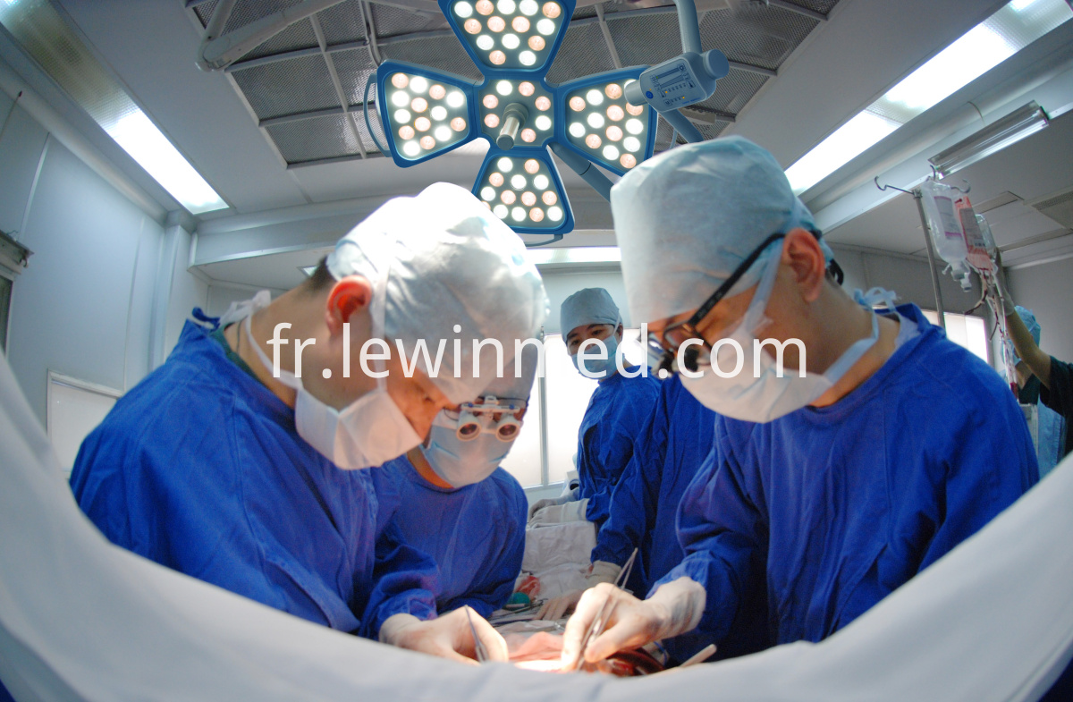 Surgical cold light led lamp