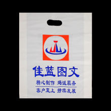 Die Cut Patch Handle Biodegradable Shopping Bag
