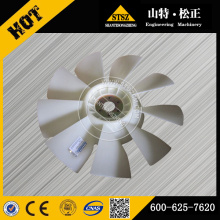 PC200-7 Excavator Engine cooling fan 600-625-7620