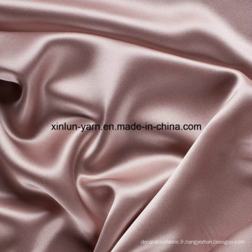 Tissu épais et doux de polyester épais teint par fil de tissu