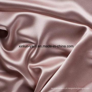 Tecido de poliéster grosso tingido fio de tecido macio e suave
