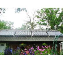 Colector solar montado en la pared para uso doméstico