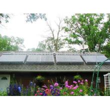 Collecteur solaire mural pour usage domestique