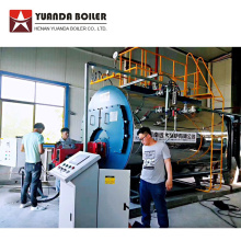 Natural Gas Steam Boiler for Canned Tuna Factory