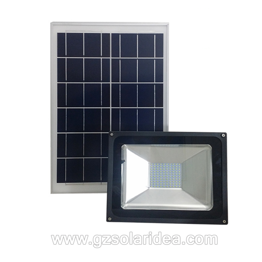 High Luminosité Outdoor Solar 50w Led Flood Light