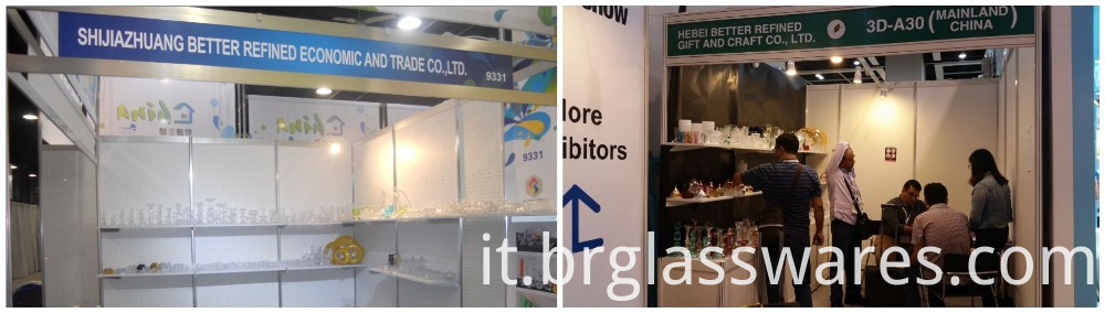trade shows for similar with Blown Decorative Colored Glass Vase