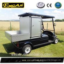 Precios del recinto carrito de golf eléctrico con cubierta de lluvia
