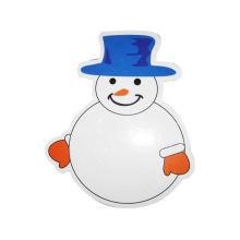 deslizando crianças móveis crianças desenhos animados bonitos (homem da neve) quadro branco