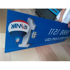 Indoor Custom Sign Boards Shape Cutting