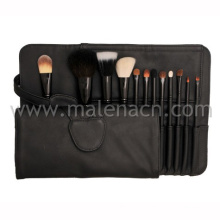 Deluxe 12PCS Set Professional Makeup Brush with Natural Hair