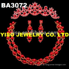 Conjunto de jóias de casamento elegante