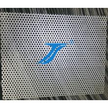 Treillis métallique perforé à trous ronds, acier inoxydable