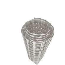 White color 50 kN high strength coal mining supporting/protecting plastic mesh biaxial geogrid