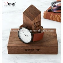 Help You Advertise Your Watch Brand Beautiful Display Custom Made Display Stand Wood For Watches
