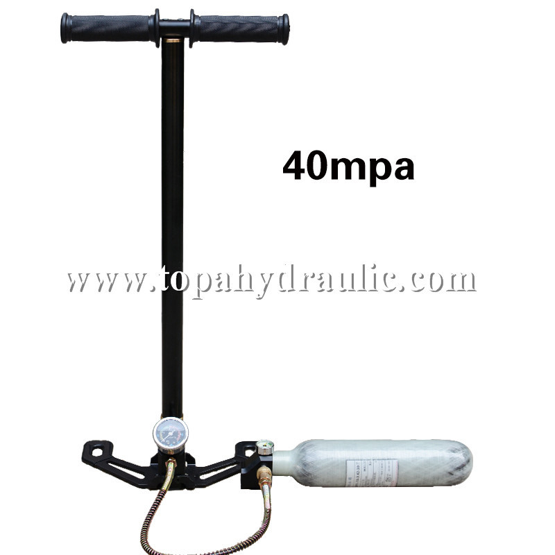 pcp hand air pump for air tank