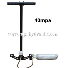 Football 4500 psi high pressure pcp hand pump