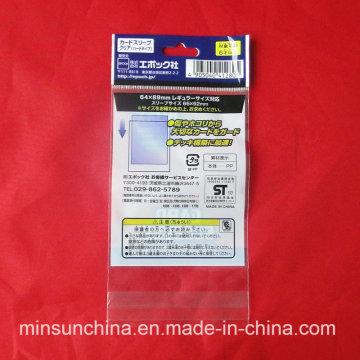 Impresión OPP Header Bolsa de plástico autoadhesivo