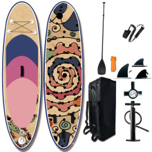 2021 Superior Hot selling Inflatable transparent  water  paddle board  Sup paddle board for water sports