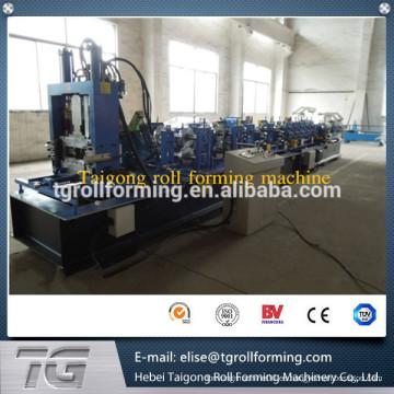 De alta eficiencia cnc rodillo que forma la máquina purlin cz hecho en China