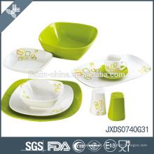 Green and Environmental Protection conjuntos de jantar de cerâmica do paquistão