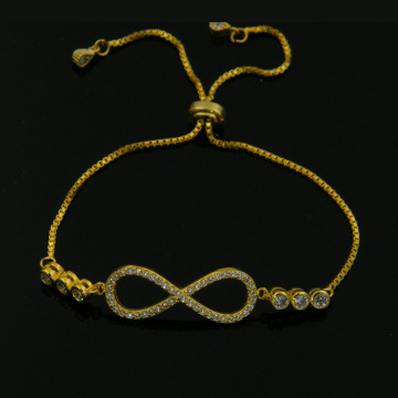 Micro Pave Rhinestone Chain Bracelet for Women