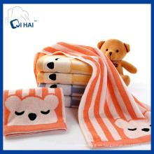 100% Hilado de algodón teñido de la toalla de cara del oso de la litera Proveedor