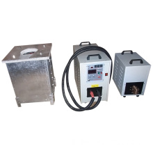 Induction Melting Furnace (MF-10KG) for Iron, Steel, Copper,