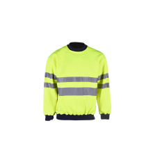 high visibility sweatshirt with 3m tape