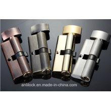 Brass Cylinder Lock, Door Cylinder Lock, Button Cylinder Lock Al-60-70-80-90