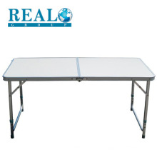 Wholesale aluminium folding camping table outdoor with the bench complement table set