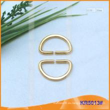 Tamaño interior 20mm Metal Hebillas, Regulador de metal, Metal D-Ring KR5057