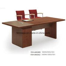 Mesa rectangular pequeña para sala de conferencias para el mercado de EE. UU. (FOH-AM1809)