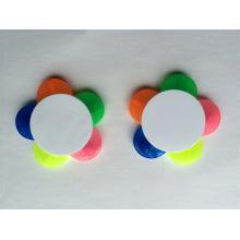 Blume geformt 5 Farben in 1 Textmarker Marker Geschenk Stift