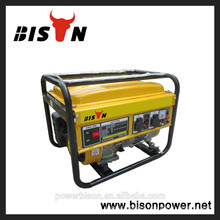 Bison BS2500 2kw generador de gasolina, AC 3 Fase en silencio