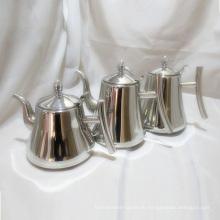 Bestückte Teekanne mit abnehmbarem Infuser / Teezubereiter und Siebset