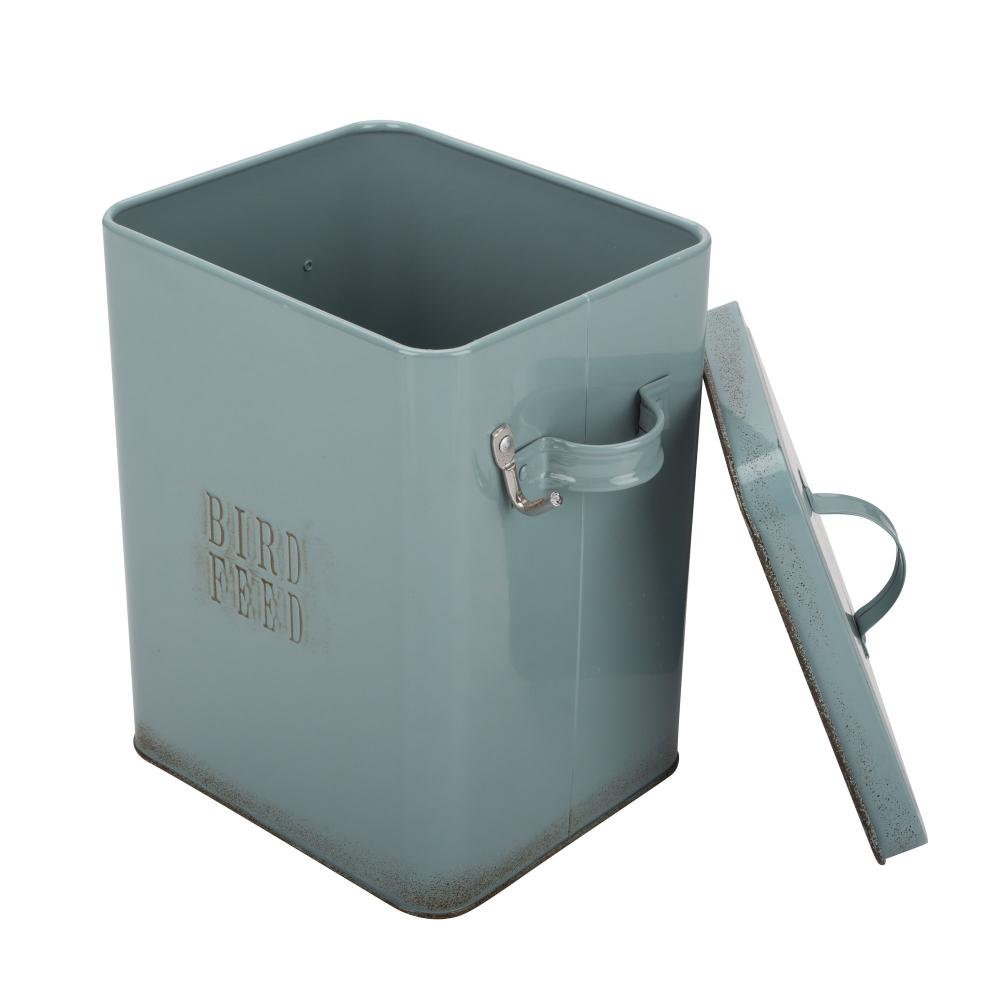 Bird Feed Tin Box