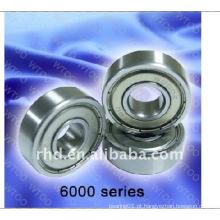 6000 seires rolamento rígido de esferas