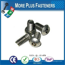 Made in Taiwan Countersunk Head Torx With Pin Drive Security Self Tapping Screw