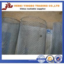 Rede de arame de aço inoxidável 30/40/60 do furo quadrado para filtros