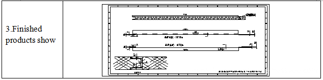 Polyurethane foam panel production machine line 3