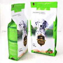 Quad Sealed Dog Food Packaging Bag with Zipper