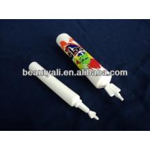 13mm 19mm 22mm Diâmetro PE torção de plástico fora do tubo para produtos de cabelo