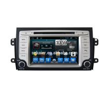 Usine Double Din android 6.0 / 7.1 voiture Radio Navigator avec GPS pour Suzuki SX4 2006-2014 voiture lecteur dvd stéréo