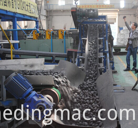 Carbon Briquetting Machine